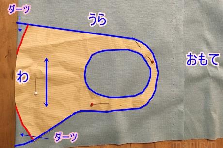 マスク 作り方 生地 ニット 【無料型紙・作例】ゴム不要!簡単ニットマスク